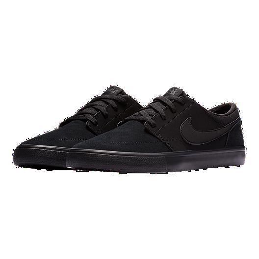 519691d3fdce Nike SB Men s Portmore II Solar Skate Shoes - Black Anthracite. (0). View  Description