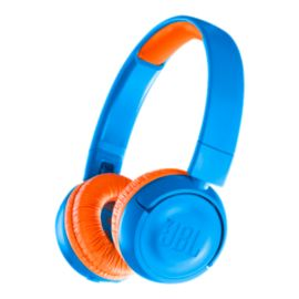 JBL JR300 Kids' On-Ear Wireless Headphones - Rocker Blue