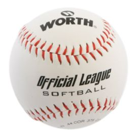 "Worth Official 11"" Durahyde / Cork Softball"