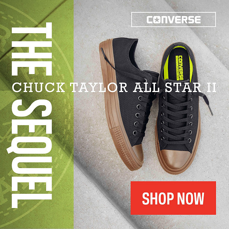 Converse Chuck Taylor All Star II Collection