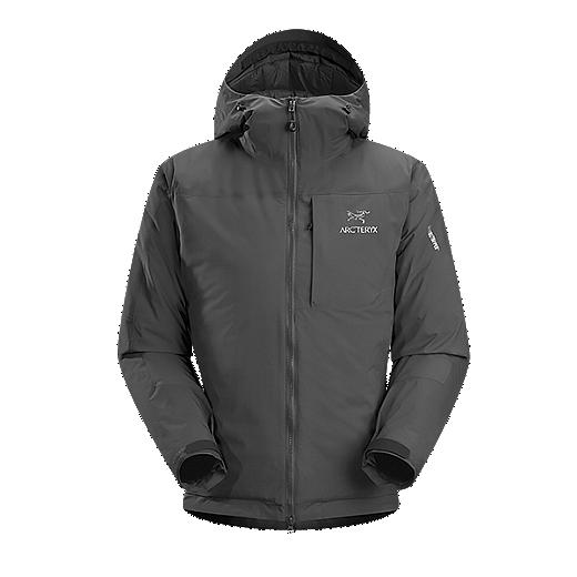 3d2180699e3 Arc'teryx Men's Kappa Insulated Hooded Jacket - Prior Season - CARBON COPY