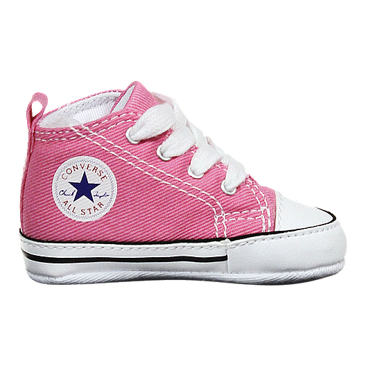 1d5b911a4285 Converse Baby Chuck Taylor First Star High Top Shoes - Pink