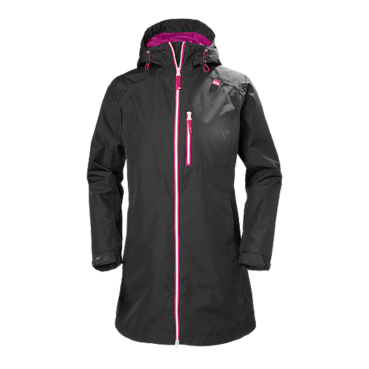 55de18cebe5 Helly Hansen Women's Long Belfast Shell Jacket | Sport Chek