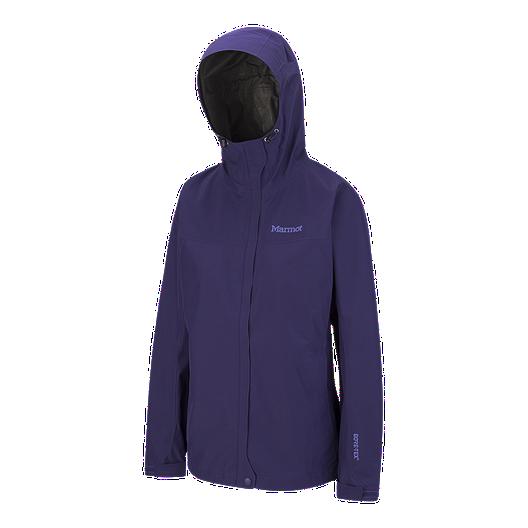 Women with Adjustable Hood Marmot  Minimalist Hard Shell Raincoat