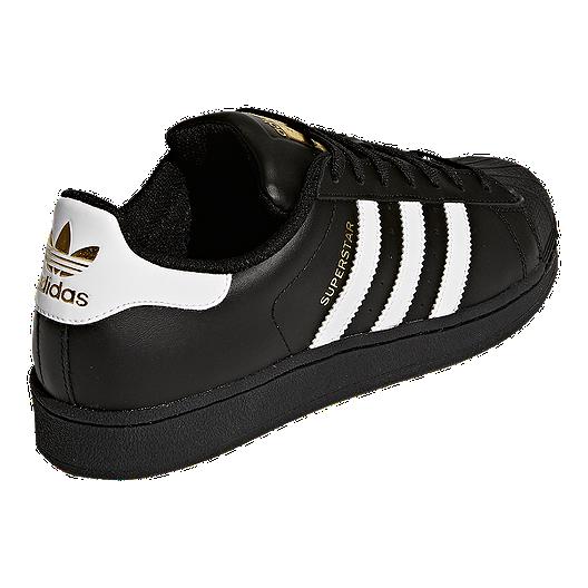 info for cf2e0 bde06 adidas Men's Superstar Foundation Shoes - Black/White ...
