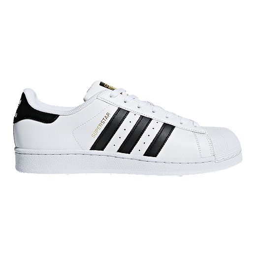 adidas Men's Superstar Shoes - White/Black   Sport Chek
