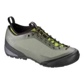 Arc'teryx Men's Acrux FL Hiking Shoes - Tundra/Green - Prior Season