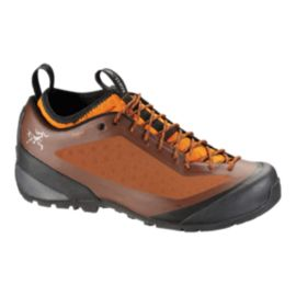 Arc'teryx Men's Acrux FL GTX Hiking Shoes - Orange/Black - Prior Season