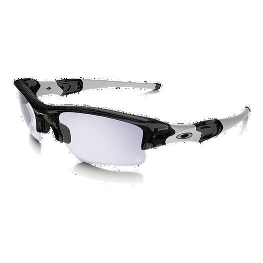 52c364318203b Oakley Flak Jacket XLJ Grey Smoke Sunglasses