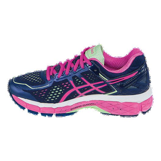 a788604774 ASICS Women's Gel Kayano 22 Running Shoes - Indigo Blue/Berry Pink