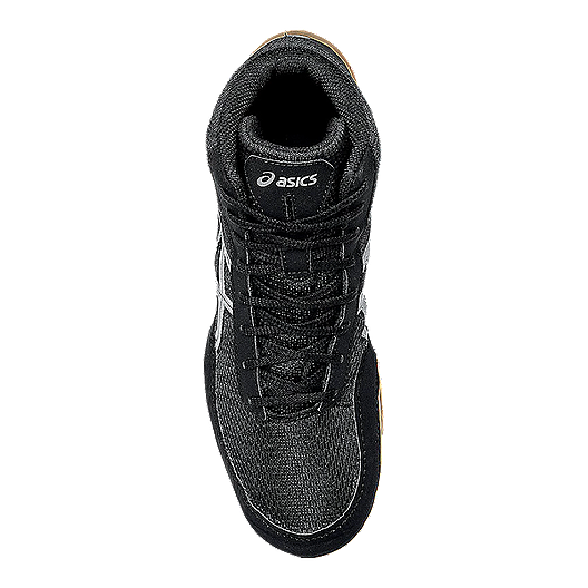 38863f50db4910 ASICS Men s Matflex 5 Wrestling Shoes - Black Silver Gum. (0). View  Description