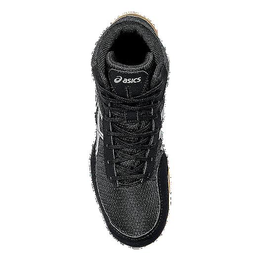 ASICS Men s Matflex 5 Wrestling Shoes - Black Silver Gum  96ec4b0be
