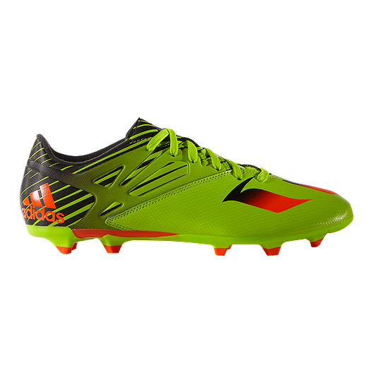 a76f41a97 adidas Men s Messi 15.3 FG Outdoor Soccer Cleats - Lime Green Black Orange