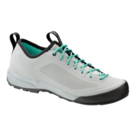 Arc'teryx Women's Acrux SL Hiking Shoes - White/Green - Prior Season