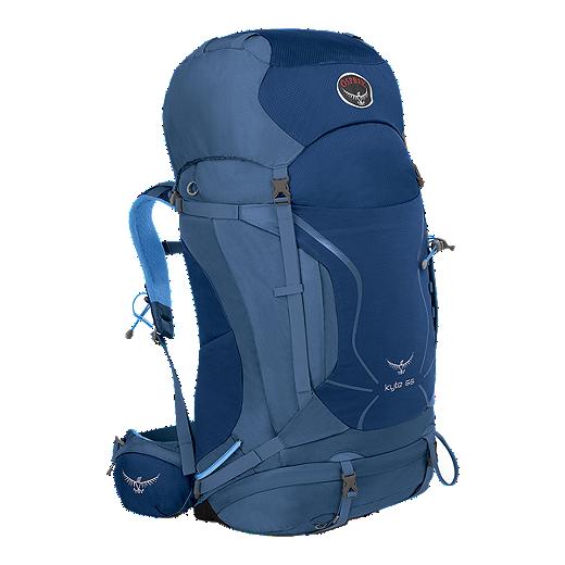 e47b44821488 Osprey Women s Kyte 66L Backpack - Ocean Blue - MED BLUE