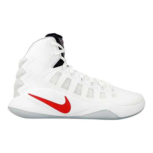 pretty nice ce3d0 1e135 Nike Men s Hyperdunk 2016 Basketball Shoes - White Black Red   Sport Chek