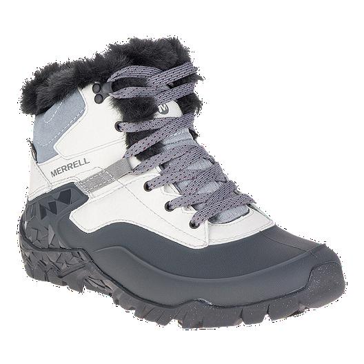 ae44bb7774 Merrell Women's Aurora 6 Ice+ Waterproof Winter Boots - Ash