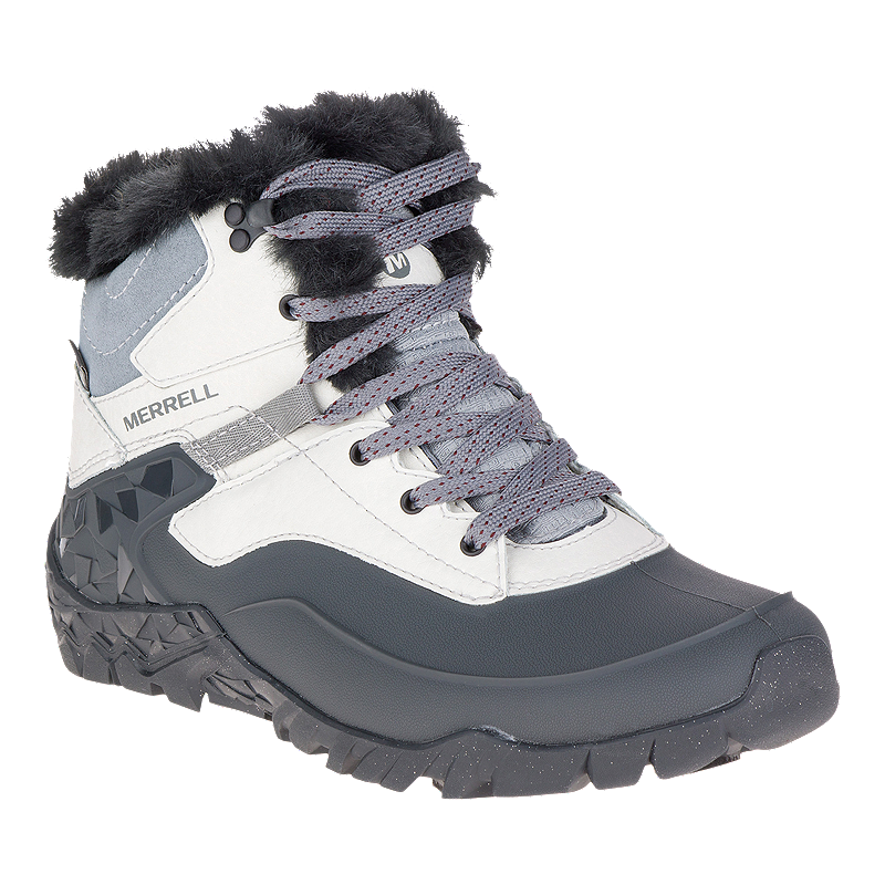 16274abd Merrell Women's Aurora 6 Ice+ Waterproof Winter Boots - Ash