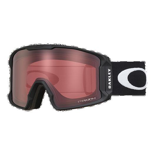 c5fee1bd75a Oakley Line Miner Ski   Snowboard Goggles with Prizm Rose Lenses 2017 18 -  Matte Black
