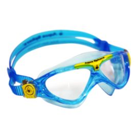 Aqua Sphere Vista Junior Swim Goggles - Aqua / Yellow
