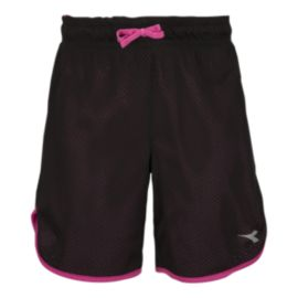 Diadora Girls' Field To Court 7 Inch Shorts
