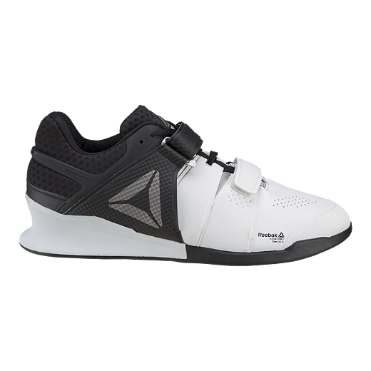 08d9896a6 Reebok Men s Legacy Lifter Weightlifting Shoes - White Black