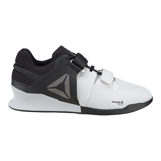 ceb971ba8bb7 Reebok Men s Legacy Lifter Weightlifting Shoes - White Black