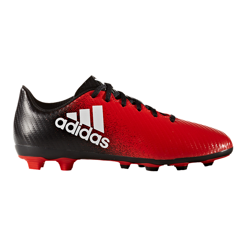 31759dc38af9 adidas Kids' X 16.4 FG Outdoor Soccer Cleats - Red/Black | Sport Chek