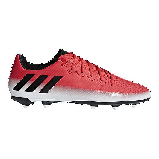 pretty nice 06e59 b9d1c adidas Men s Messi 16.3 FG Outdoor Soccer Cleats - Red White Black   Sport  Chek