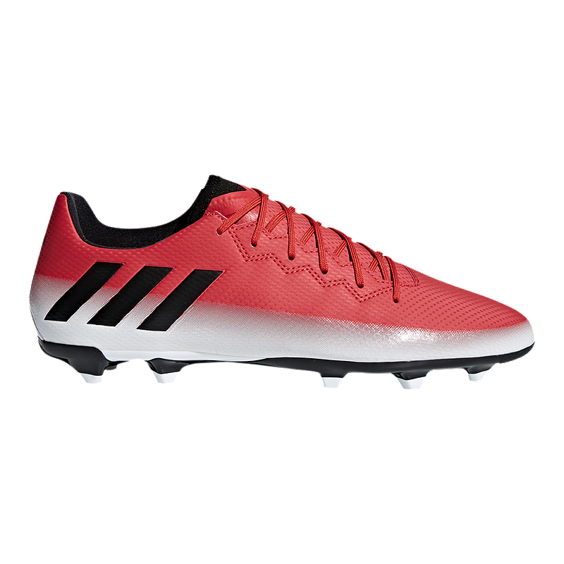 e406f949832 adidas Men s Messi 16.3 FG Outdoor Soccer Cleats - Red White Black ...