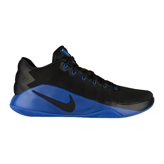 c6a2d05e4cf5 Nike Men s Hyperdunk 2016 Low Basketball Shoes - Black Royal Blue ...
