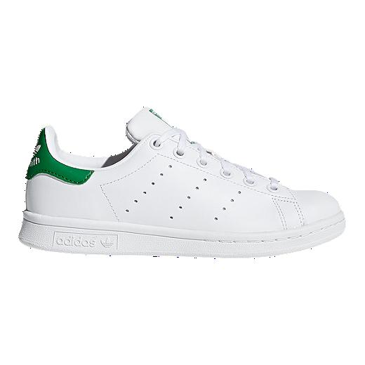 7bca5d4c156 adidas Kids  Stan Smith Grade School Casual Shoes - White Green ...