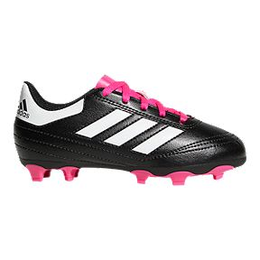 d7b874a2c adidas Girls  Goletto VI Outdoor Soccer Cleats - Black Pink