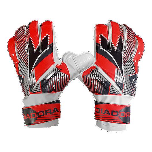 bfeab0920 Diadora Sisma Soccer Goalie Gloves - Red Black