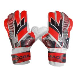 Diadora Sisma Soccer Goalie Gloves - Red/Black