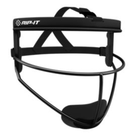 Rip-It Defense Pro Adult Fielder's Mask - Black