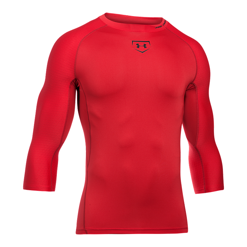 Sport Chek Heated Gloves: Under Armour Zonal Compression 3/4 Sleeve Shirt