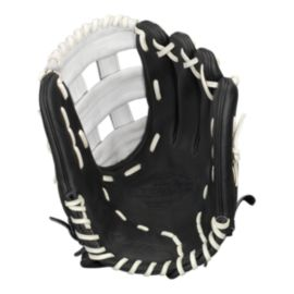 "Easton Stealth Pro 12.25"" Fastpitch Glove - Black/White"