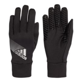 adidas Field Player Climaproof Glove - Black/Silver
