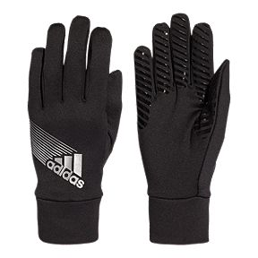 adidas Field Player Climaproof Glove - Black Silver ad038774bd