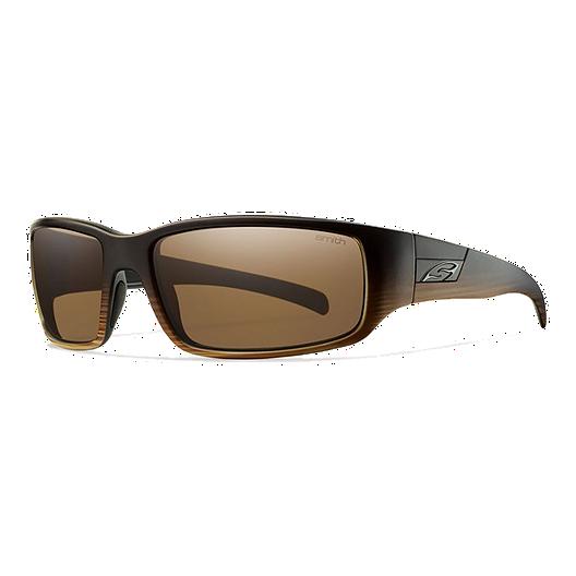 6c7f4b05d61f2 Smith Prospect Polarized Sunglasses- Woodgrain with Brown Lenses ...