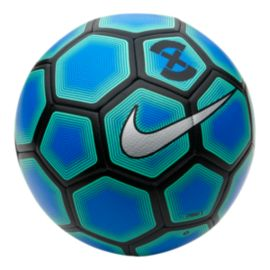 Nike Strike X Soccer Ball - Photo Blue/Electric Green/Silver