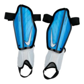 Nike Kids' Protegga Flex Soccer Shin Guards - Photo Blue/White