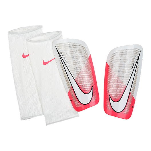 fashion styles on feet images of entire collection Nike Mercurial Flylite Shin Guard - Racer Pink/White | Sport ...