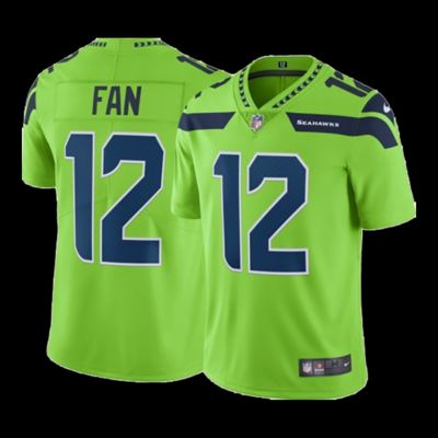 Top Seattle Seahawks Men's Nike Colour Rush #12 Fan Limited Jersey  hot sale