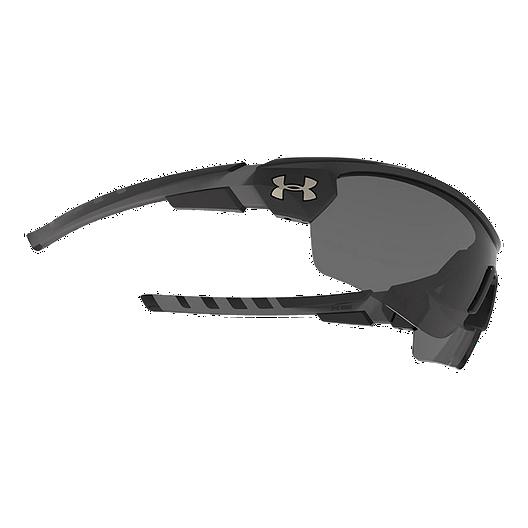293bbc5f0a973 Under Armour Rival Black Sunglasses - Gray Multiflection Lens. (0). View  Description