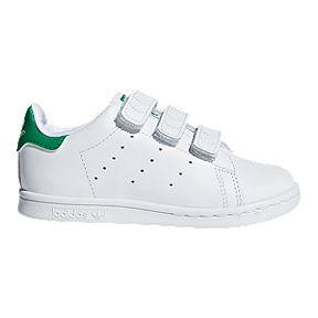 06b21a7e6b1ee adidas Toddler Stan Smith CF 2V Shoes - White Green