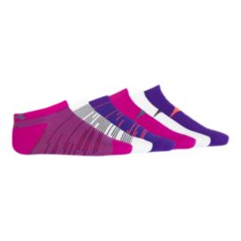 Diadora Girls' Evolve No Show Socks - 6 Pack