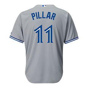 Toronto Blue Jays Kevin Pillar Away Baseball Jersey 46015ac8c2
