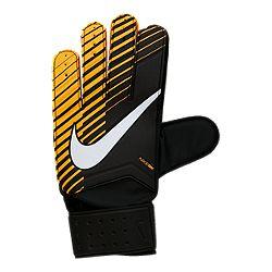 image of Nike Goalkeeper Match Soccer Gloves - Black/Laser Orange/White  with sku